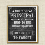 Principal Gift, A Truly Great Principal is Hard to Find
