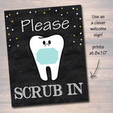 Dental Graduation Party Signs, Chalkboard Printable, Dentist College Graduate, Grad Party Invite, Dental Hygienist,