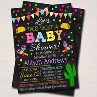 Editable Fiesta Nacho Average Baby Shower Invitation, Chalkboard Printable Baby Sprinkle Fiesta Couples Shower Party Invite INSTANT DOWNLOAD