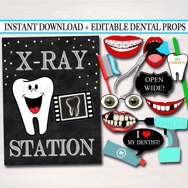 picture relating to Graduation Photo Booth Props Printable identified as EDITABLE Dental Commencement Celebration Signs or symptoms, Printable Picture Booth Props, Dentist Retirement Grad Social gathering Invite Dental Hygienist, Fast Obtain
