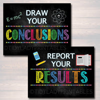 Scientific Method Poster Set, Classroom Decor INSTANT DOWNLOAD Science Lab Class Decor Teacher Printables Classroom Rules Chalkboard Posters