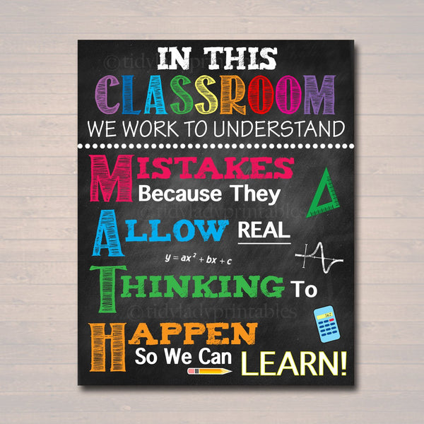 image about Classroom Rules Printable known as MATH Instructor Clroom Poster, Printable Issues Math Clroom, Math Cl Poster Decor, Significant Higher education, Clroom Recommendations, Math Instructor Reward
