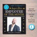 Employee of the Month Printable