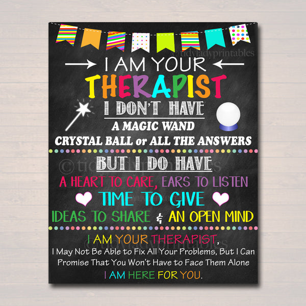 Therapist Office Decor, I am Your School Counselor Sign, Psychologist Gift, Counseling Office, Counselor Gift Wall Art,