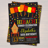 EDITABLE Hibachi Dinner Party Invitation, Party Invite, Chinese Restaurant Printable, Birthday Invite Template, Any Age, INSTANT DOWNLOAD