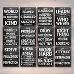 40% OFF Set of 12 Printable Classroom Posters, Kindness Motivational Mistakes Think, Teacher School Counselor Principal Inspirational Quotes