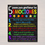 Spanish School Counselor Poster, Behavior Therapy, Child Therapist, Counselor Office Decor, Principal Office Wall Art, Child Psychologist