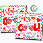 Valentine Sunglasses Gift Tags, You Are Too Cool, 80's Valentine Gift Classroom School Teacher Staff, Valentine Label, DIY Editable Template
