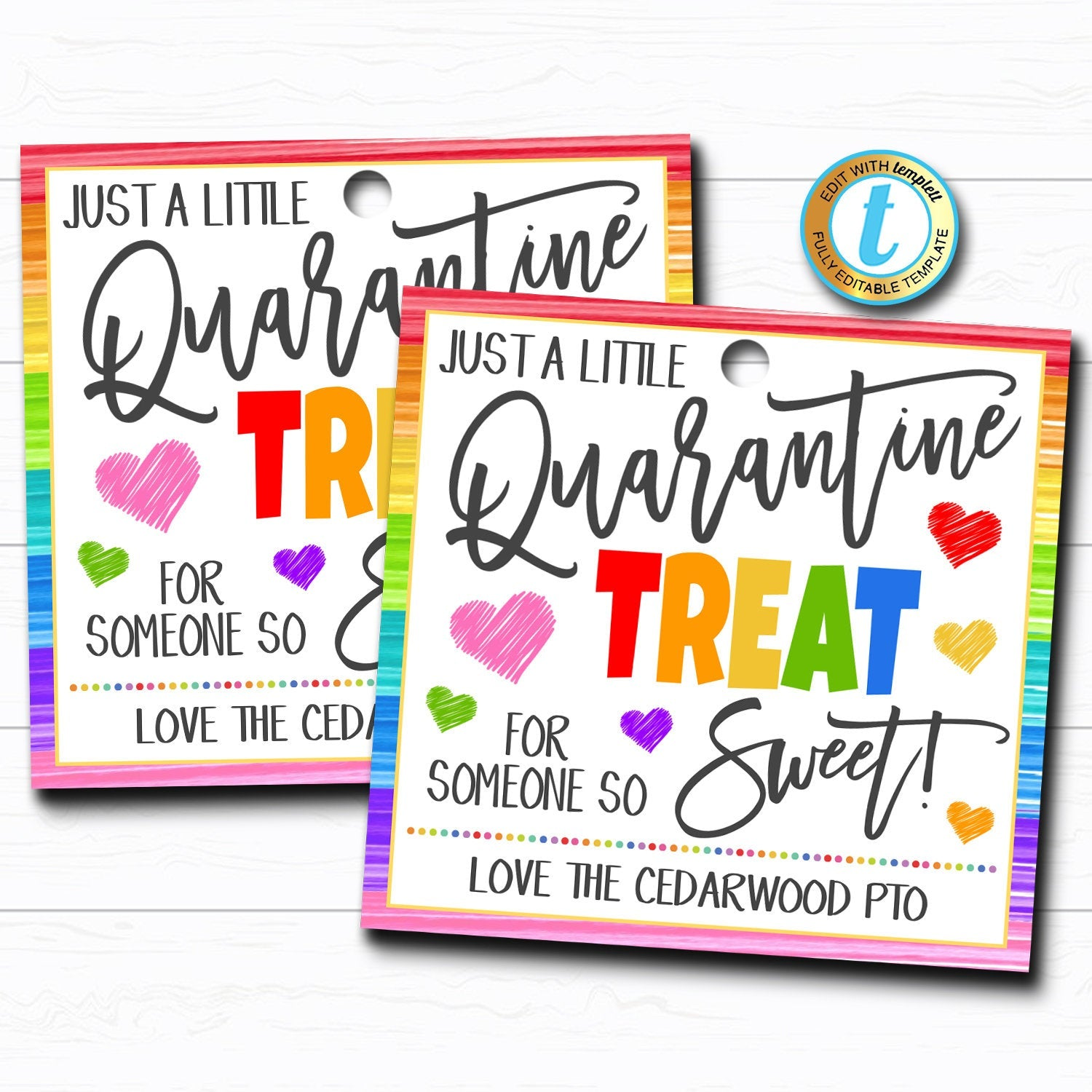 Halloween Gift Tags Thanks for Being FabBOOlous Teacher Staff Employee School Pto Halloween Appreciation Favor Tags DIY Editable Template