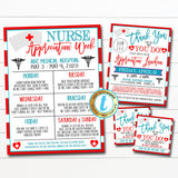 Nurse Appreciation Luncheon Invitation, Thank You Healthcare Workers Event, Hospital Staff Nurse Appreciation Week INSTANT DOWNLOAD Template