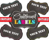 Printable Labels - INSTANT and  - Pantry Labels, Bathroom Labels, Office Labels, Organization Tags
