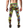 Colorful Camouflage Gym Pants