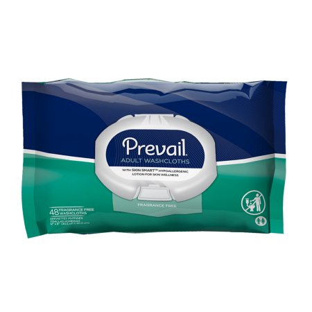 Prevail Personal Wipe Unscented 48 Count