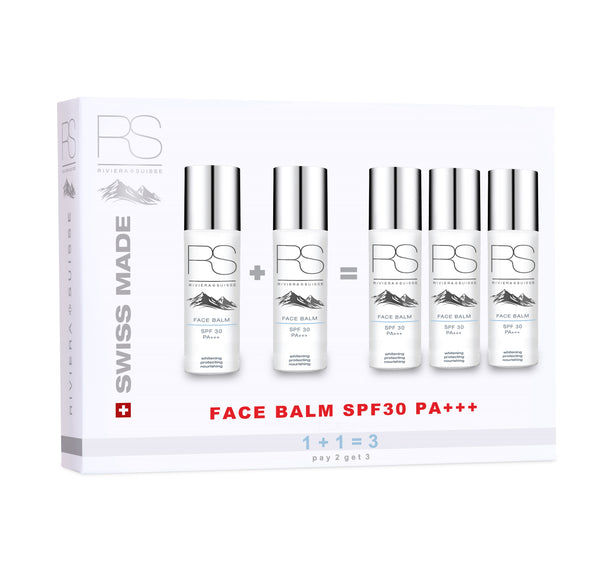 1+1 = 3 Set - Face Balm SPF30 PA+++ 50ml x3