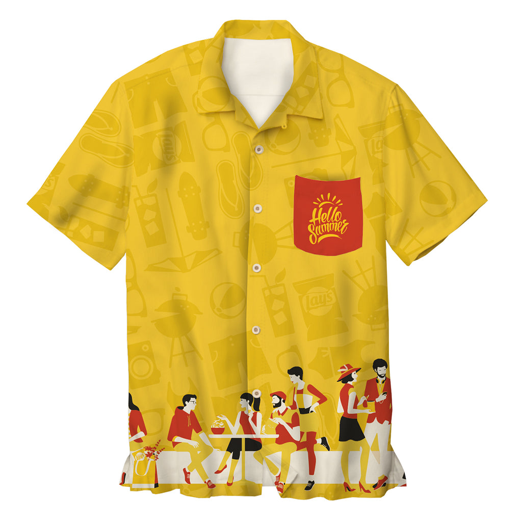 Custom Bowling Shirt