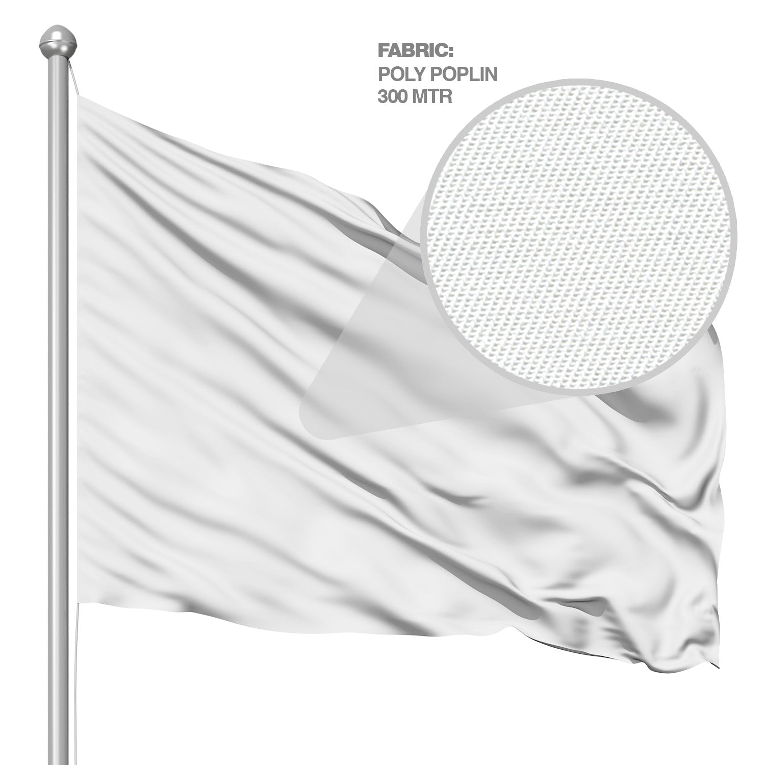 Polyester Flag (Double-Sided) 2' x 3'