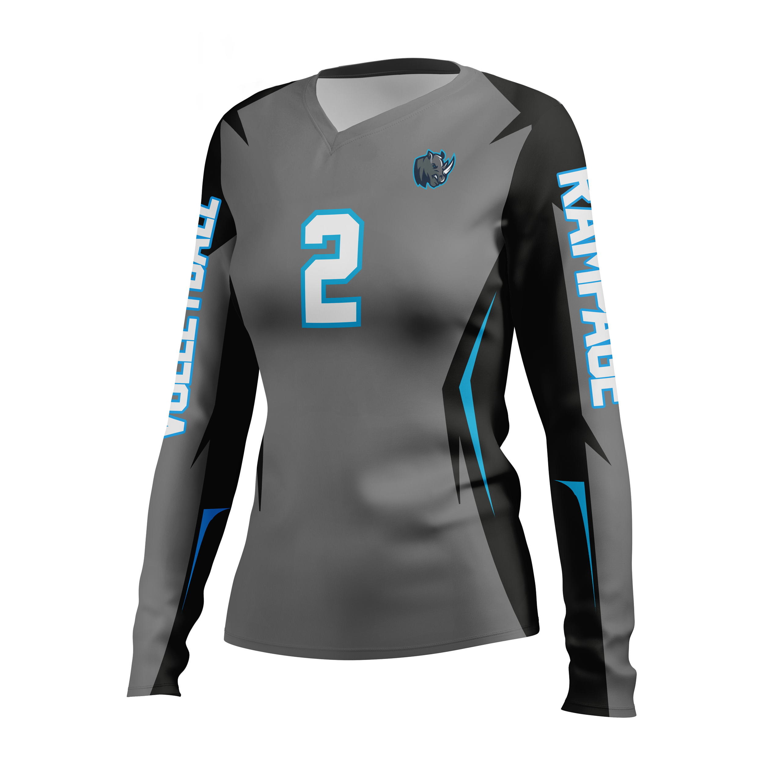 Women's Volleyball Jersey Sample