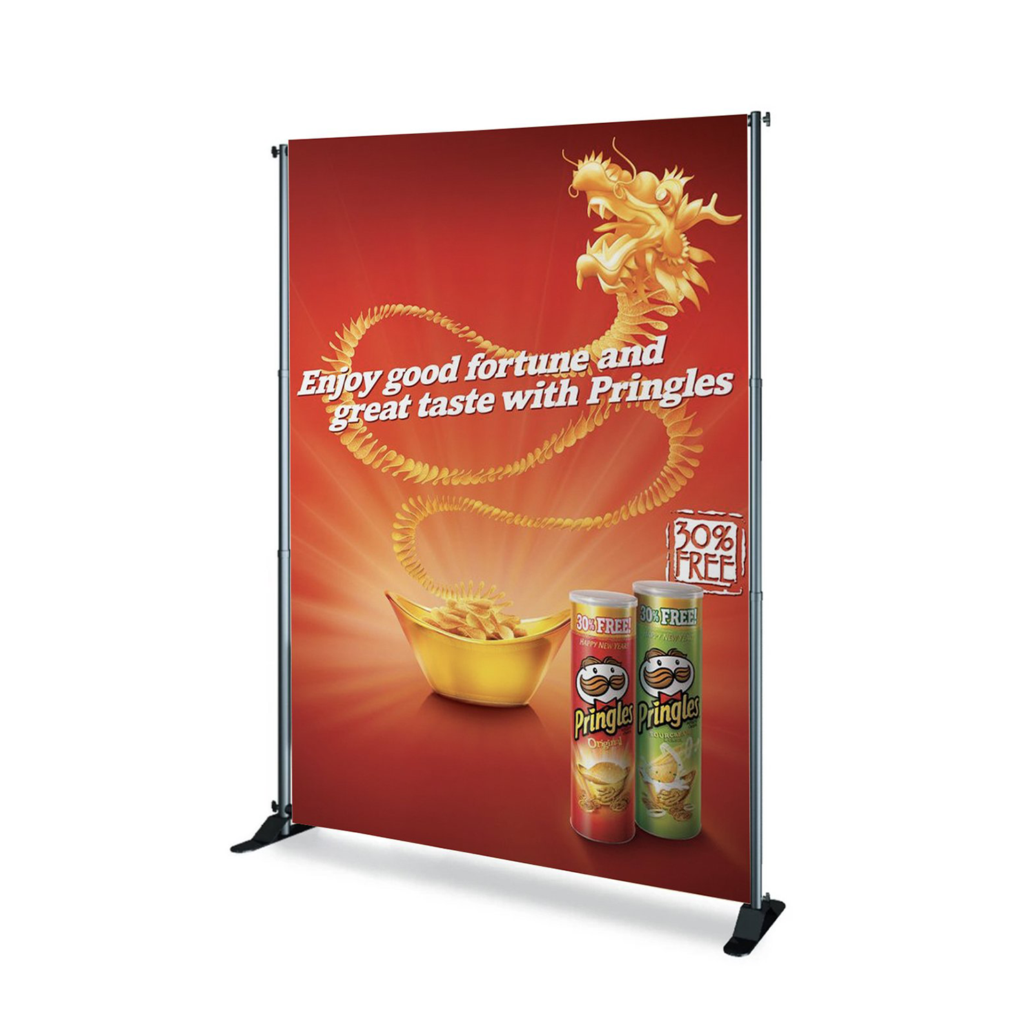 6'x8' Backdrop Replacement Graphic Banner Only (C/R)