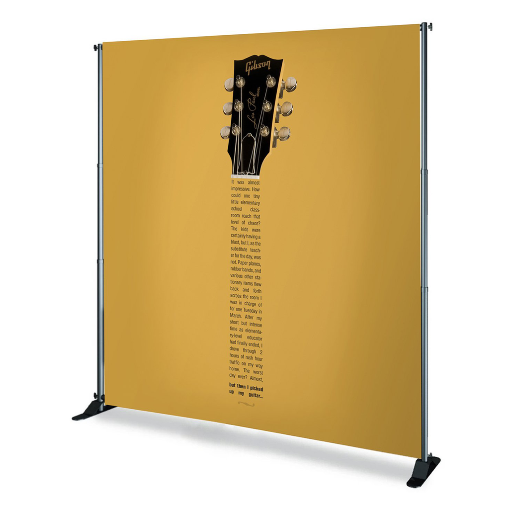 8'x8' Backdrop Replacement Graphic Banner Only (C/R)