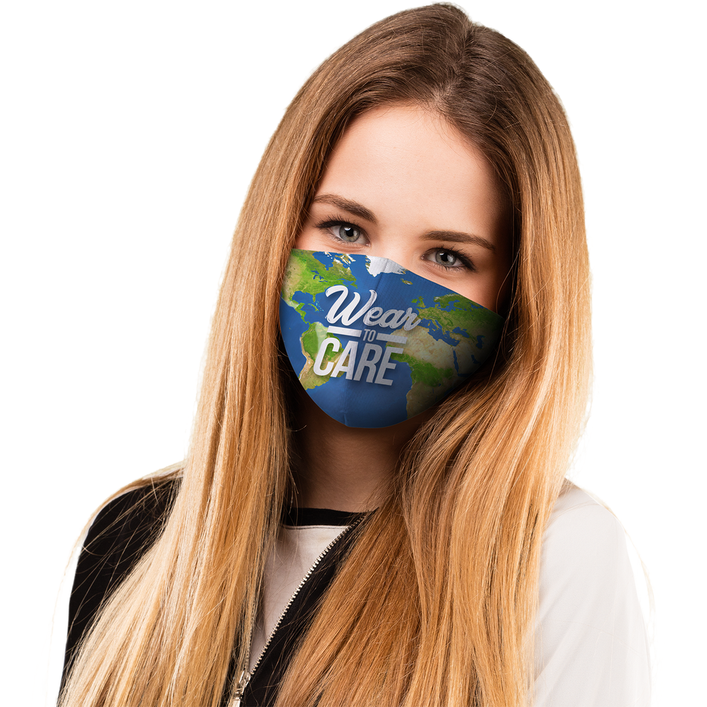 Pre-Printed Face Mask Sample