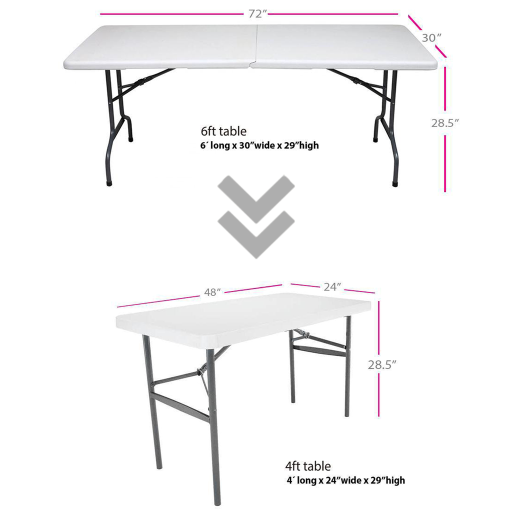 6ft. Convertible Table Cover (C/R)