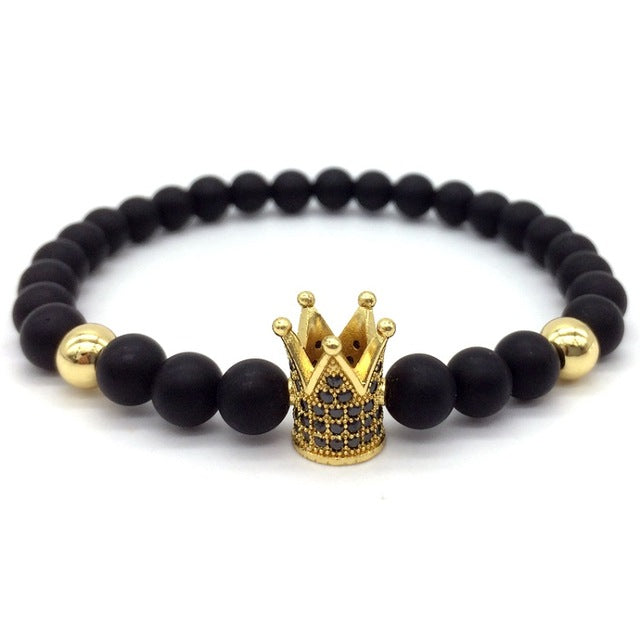 --Classico Duo Or - Perle mate - Bracelet Royalzz--
