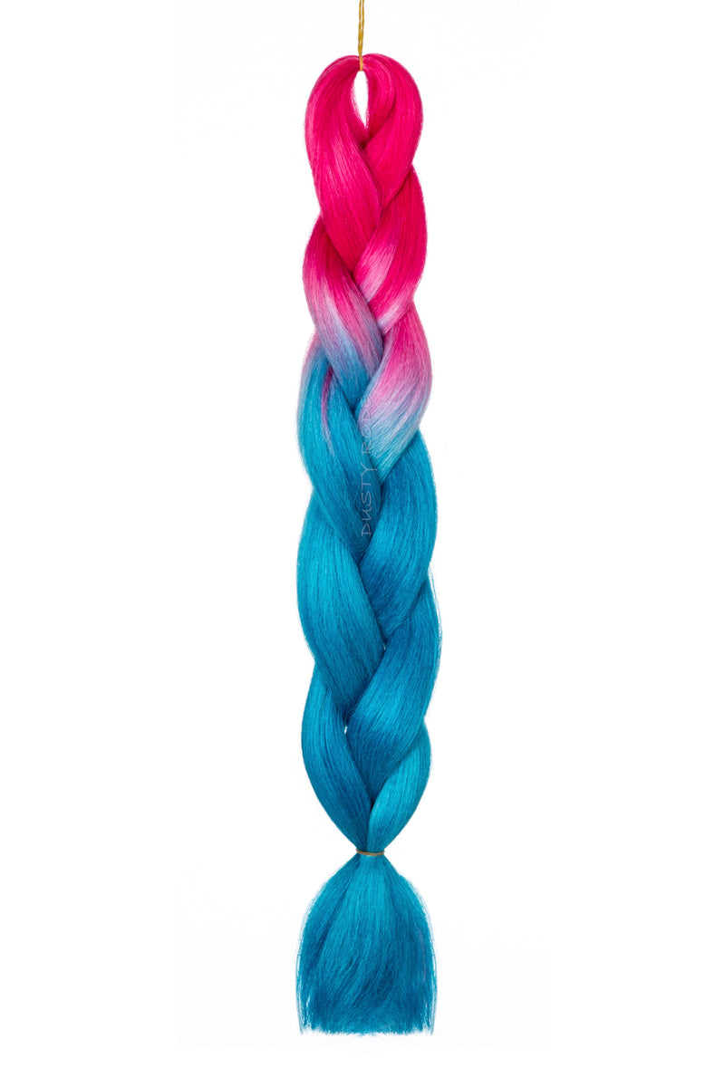 Hot Pink/Blue Hair
