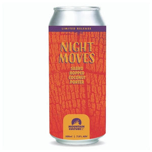 Night Moves Sabro Hopped Coconut Porter