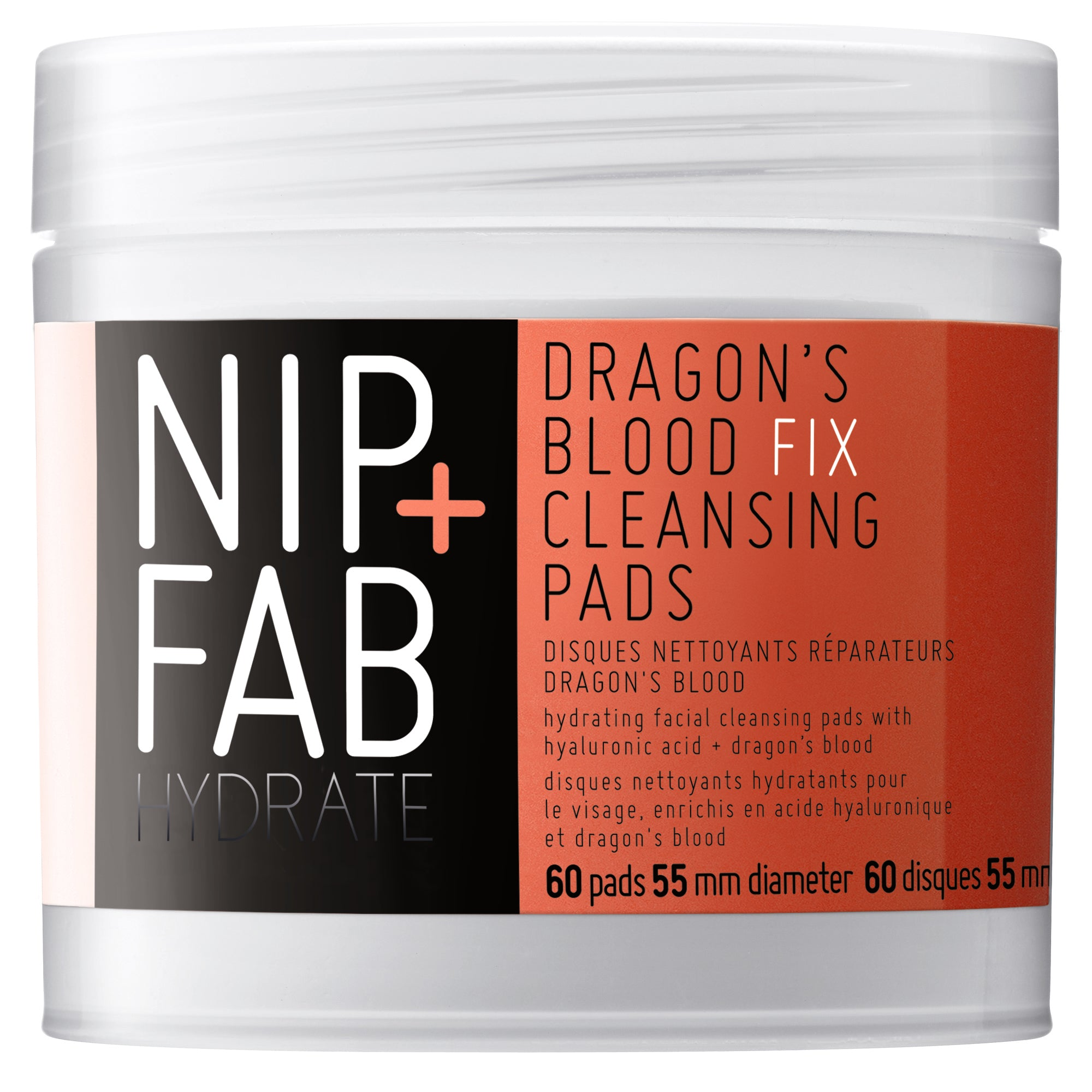 NIP+FAB DRAGON'S BLOOD FIX CLEANSING PADS