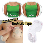 5 Pairs/Set Of Women's Invisible Bust Lift Tape