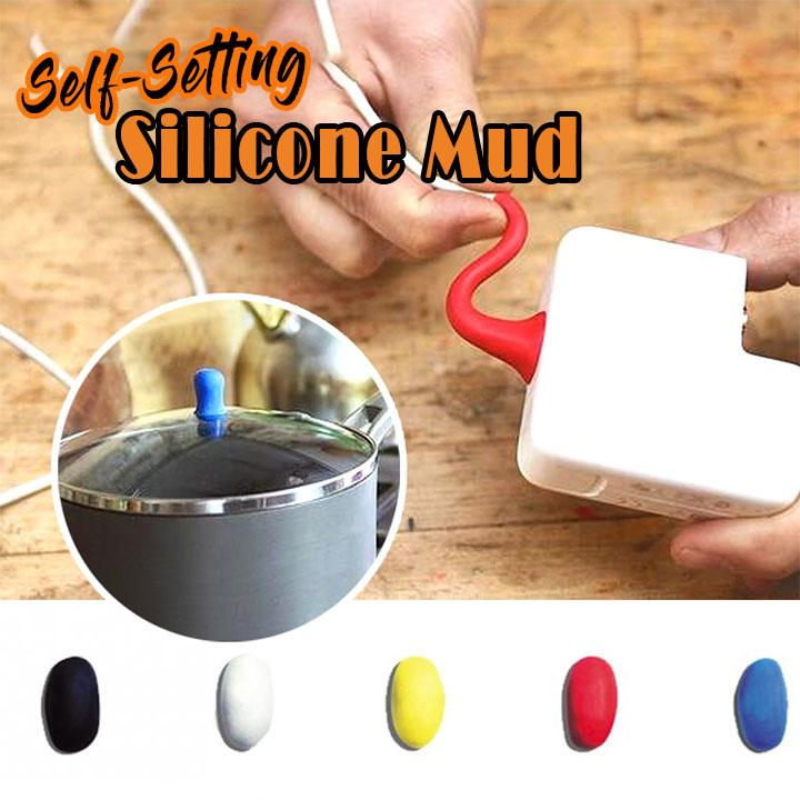 Self-Setting Silicone Mud (3 Pcs)
