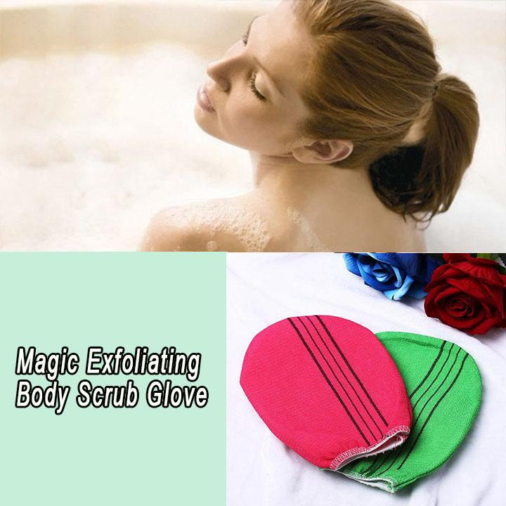 Magic Exfoliating Body Scrub Glove