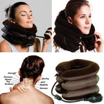 Inflatable Massage Neck/Cervical Traction Pillow