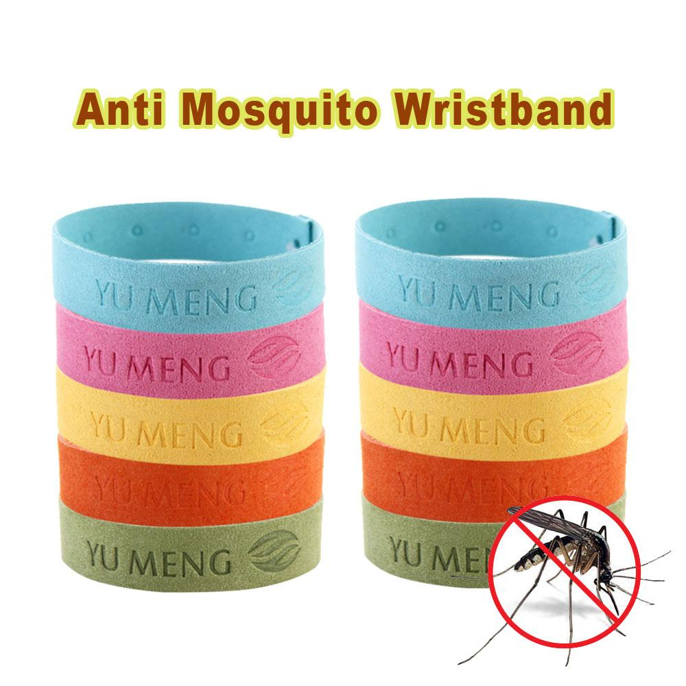 Anti Mosquito Wristband (10Pcs)