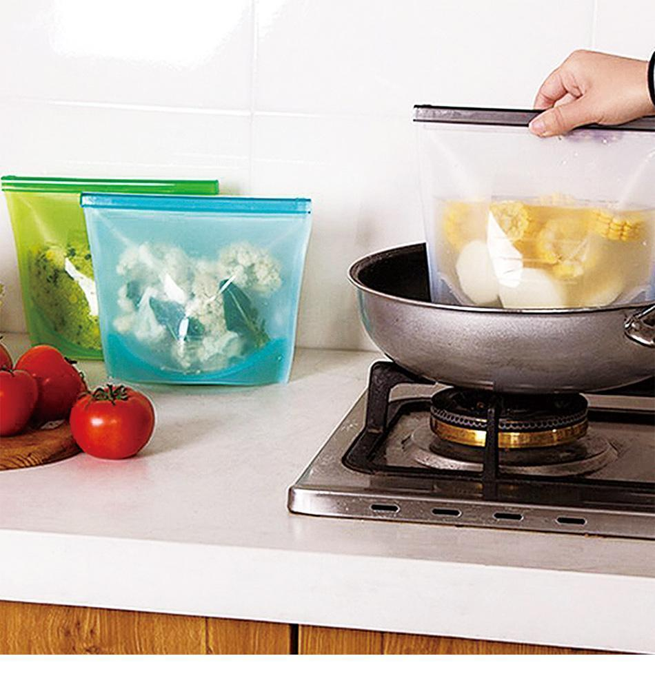 Silicone Reusable Food Bag Intra Fancy