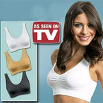 Comfortable Wireless Pushup Bra (Set of 3)