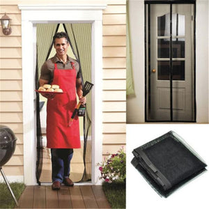 Magnetic Mesh Screen Door