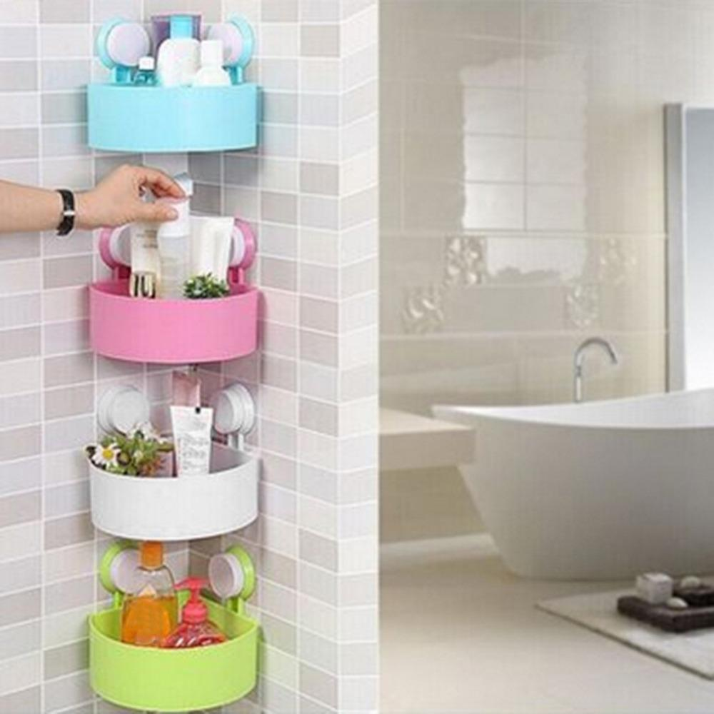 Bathroom Corner Storage Rack Organizer