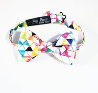 Optimistic Triangles Butterfly Bow Tie