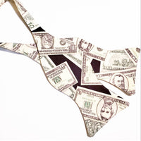 Mo- Money Butterfly Bow Tie