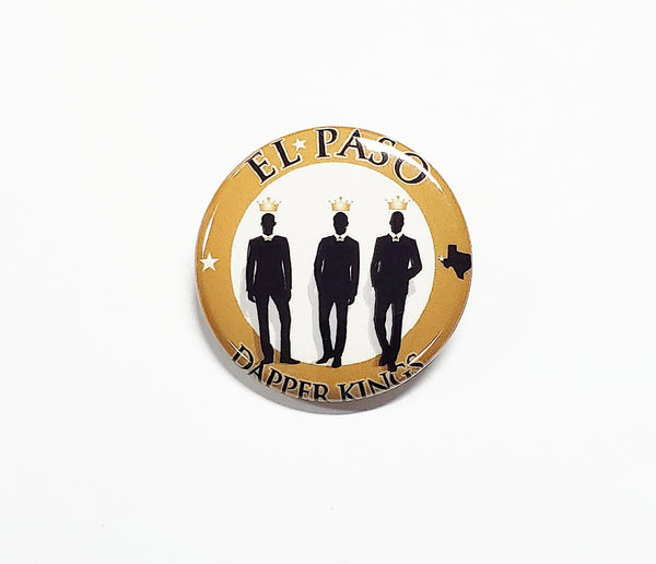 El Paso Dapper Kings Lapel Button