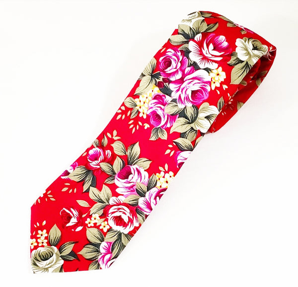 Be Bold Red Floral