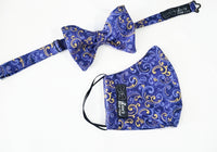 King's Pride Selftie Butterfly Bow Tie / Mask Set