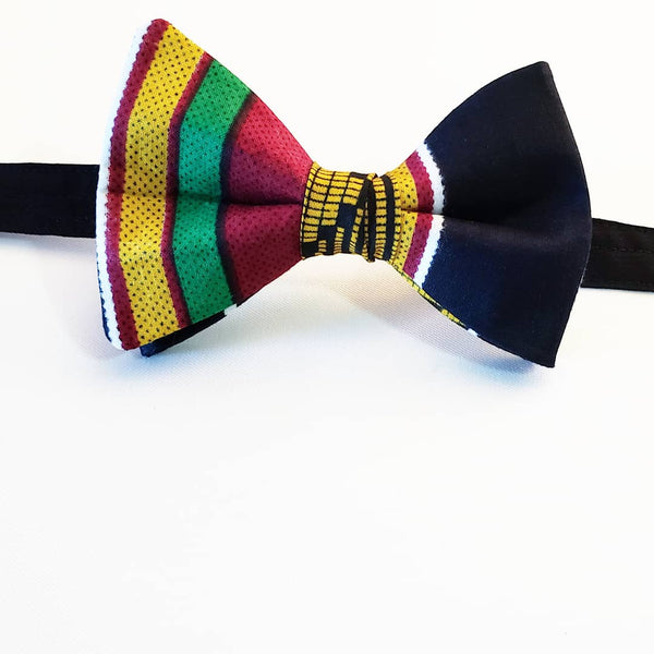 """King Carlton (Indo) Williams"" African Butterfly Bow Tie"