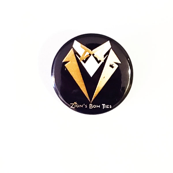 Zion's Bow Ties Lapel Button