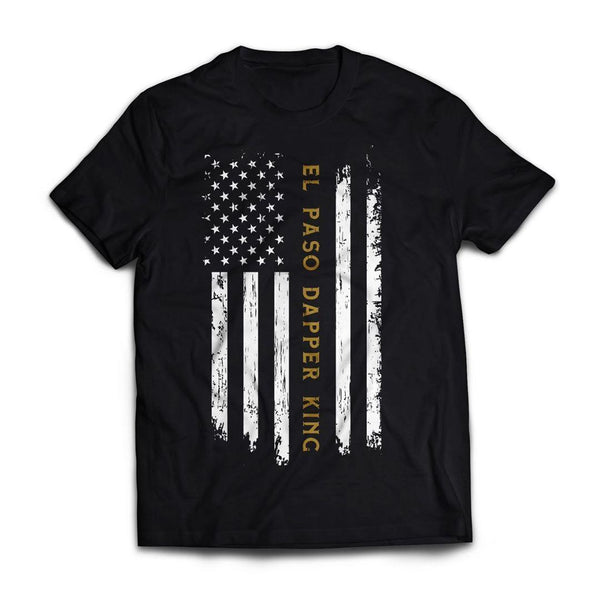 El Paso Dapper King Flag Tshirt