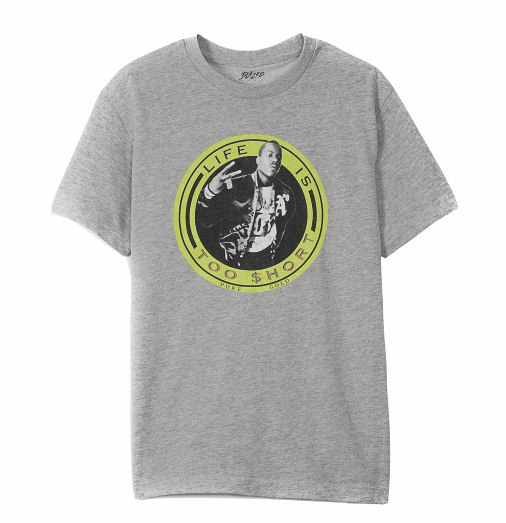 TOO $HORT | ORGANIC TERRY TEE GREY