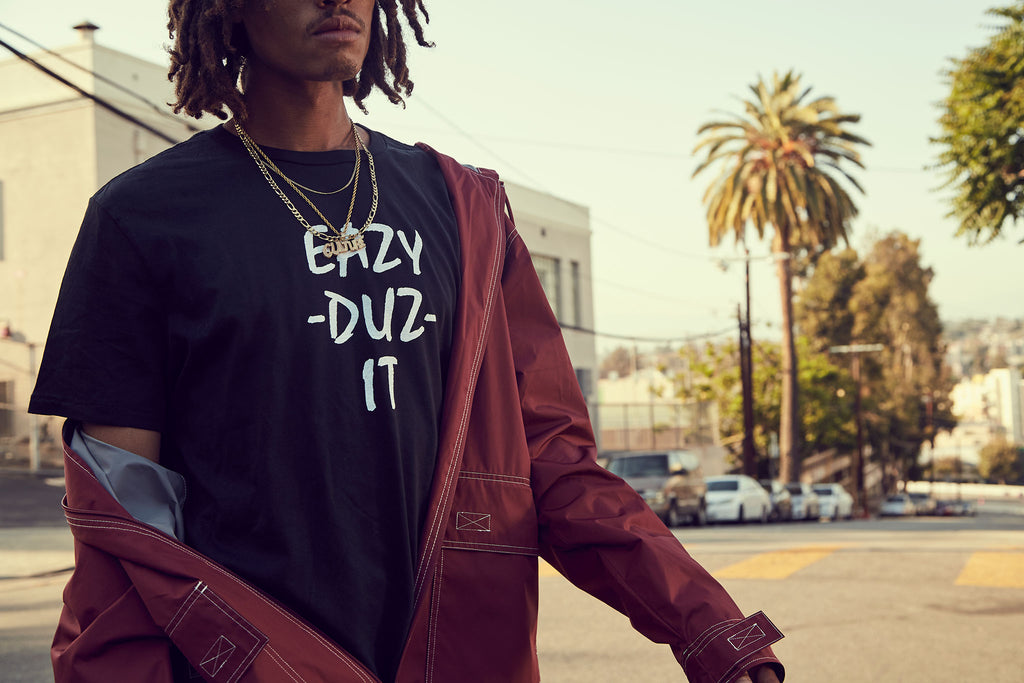 EAZY DUZ IT | LOGO TEE BLACK