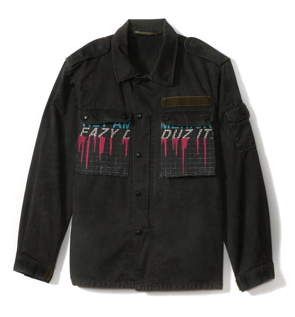 HEY AMERICA, EAZY DUZ IT | VINTAGE MILITARY JACKET