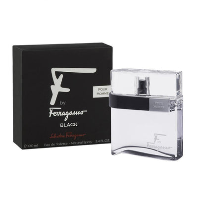 SALVATORE FERRAGAMO F`BLACK MAN EDT 100ML